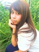 ヘアーデザイン スロープ 稲毛海岸店(Hair Design Slope)ストレートロング☆イルミナカラー
