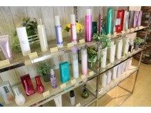 シャンプー 京王八王子ショッピングセンター店(Shampoo)の雰囲気(お客様の髪質、デザインに合ったスタイリング剤をおすすめします)