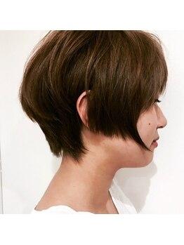 アオヘアー(ao hair)の写真/丁寧なカウンセリングで貴女のなりたいイメージを共有☆繊細なカットは崩れにくく扱いも楽チンなSTYLEに♪