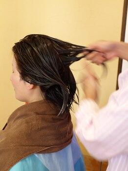 ヘアーズサハラ(HAIR'S SAHARA)の写真/髪の変化を一人のスタイリストが把握してくれるから信頼度◎小規模サロンだからこそ親身に寄り添える☆