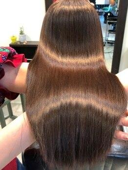 ニコ ヘアー(nico hair)の写真/注目の髪質改善メニュー◎諦めかけていたツヤと潤いを【サイエンスアクア】で復活させませんか?