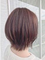 【AMAZING HAIR 美沢店/溝手】ひし形レイヤーボブ