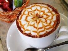 デコヘアーグラッセ(DECO HAIR glace)の雰囲気(カフェみたい!ドリンクサービス♪月毎の限定ドリンクもあるよ!)