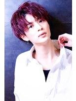 リップスヘアー 銀座(LIPPS hair)赤髪トランクス