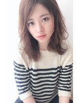 モッズ ヘア 海浜幕張店(mod's hair)ヌーディーゆるふわスタイル