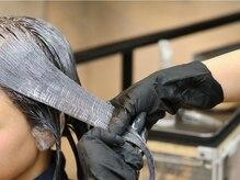 """◆髪がツヤツヤになる♪EARTH IS ARTの人気メニュー、ミネラルカラートリートメント""""M3D""""を体験!"""