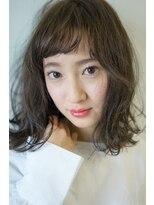 ヴィークス ヘア(vicus hair)シフォンベージュ×ボブ by 井上瑛絵