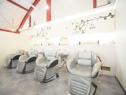 美容室サルビアジェンヌ店の写真