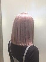 ドット トウキョウ カラー 町田店(dot.tokyo color)【snow pink】ダブルカラーカラーリスト田中