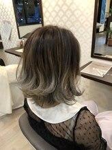 ヘアーアンドメイク アビディング(hair&make abiding)ダブルカラー