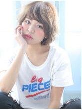 ジーナフクオカ(Zina FUKUOKA)☆Zina☆可愛いふんわりショート
