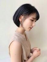 ガーデン ハラジュク(GARDEN harajuku)【GARDEN harajuku】羽田ひろむ 耳掛けグレージュショートヘア