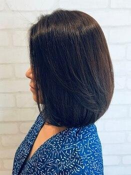 ルーチェ(luce)の写真/ダメージを気にせずいつまでも綺麗な姿に。髪に優しいオーガニックカラーで、今だからこそ似合うを提案!