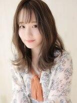 《Agu hair》柔らか質感☆外ハネカールミディ
