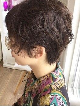 """ルシードスタイル ムースユイット(LUCIDO STYLE mousse8)の写真/少しの毛先のカールや、前髪のカールだけでも可愛くなれちゃう""""mousse8""""のパーマ♪ふわふわ質感を体感して"""