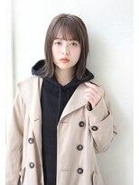 アンアミ オモテサンドウ(Un ami omotesando)【Un ami】《増永剛大》外ハネ切りっぱなしロブ、20代おすすめ☆
