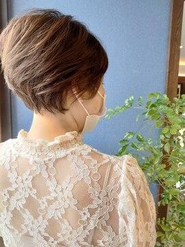 クブヘアー(kubu hair)《Kubu hair》絶壁解消美シルエットショート