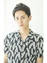 【heel銀座】上杉秀明 アップバング★メンズショート
