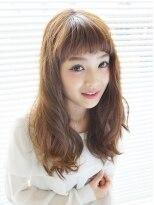 ヘアーアンドエステティック アイビジン 四日市店(Hair&Esthetic I BiJiN)ゆるふわセミディ