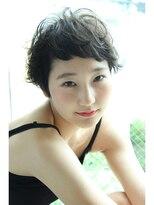 ギフト ヘアー サロン(gift hair salon)黒髪ムーブショート   (熊本・通町筋・上通り)