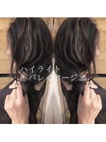 シキオ ヘアデザイン(SHIKIO HAIR DESIGN FUK)バレイヤージュ