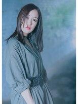 オゥルージュ(Au-rouge noma)【aurouge noma 柳瀬香里】16AWトレンド*大人MODE黒髪ストレート