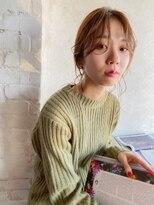 ベルビアンカ(Belle BIANCA)Belle BIANCA のばしかけ前髪×ローポニーテール by Orie