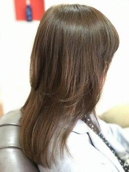トゥーリップビューティー(tu-lip beauty)の写真/クセ毛を緩和させるシャンプー等、髪質の悩みに幅広くご対応!じっくり潤いを与えて、扱いやすい髪へ導く―