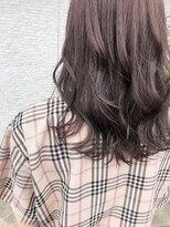 縮毛矯正×ラベンダーベージュ♪
