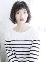 ふわくしゅショートボブ/デジタルパーマ/ヘルシーレイヤー
