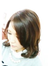 ヘアブース ドール(Hair Booth. DOLL)ボリュームグラデーション