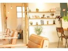 ヘアスタジオ クランプ(Hair studio CLAMP)の雰囲気(セット面4台の小さなお店です♪ご自分だけのサロンタイムを。)