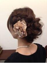 ヘアーアトリエ ヨネカ(hair atelier YONEca)レトロルーズアップ