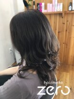 ヘアーメイクゼロ 坂戸駅前店(hairmake zero)コテ巻き エレガント