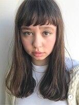 ソーコ(SOCO)【SOCO】スイートAライン大人ダークカラー伸ばしかけヘア小顔