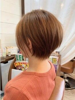 シュシュ 万世町店(CHOU CHOU)の写真/髪の悩みを聞いて欲しい大人女性からの支持◎定期的に変わるこだわりのお菓子も大人女性から大人気♪