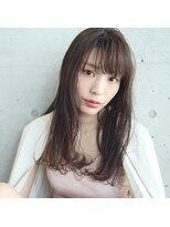 フェス カットアンドカラーズ(FESS cut&colors)『FESS 鶴丸』【切りっぱなしロングヘア×簡単スタイリング】