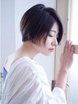 ヘアーメイクジェンテ(hair make gente)の写真/グレイカラーは傷ませない施術を!ダメージ具合や頭皮環境を考慮し、ヘアケア&ヘアデザインが同時に叶う◇