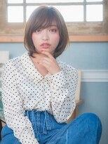 オーブ ヘアー アクネ 長岡京店(AUBE HAIR acne)マロンショートボブ☆