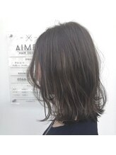 エメ ヘア デザイン(AIMER HAIR DESIGN)大人ロブ