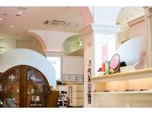 シュープ デュー イオン千種店(SHOOP deux)の雰囲気(店内にはメイクルームもあります。細やかなサービスが嬉しい♪)