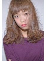クリアーオブヘアー 栄南店(CLEAR of hair)【CLEAR】軽めバング×毛先ゆるハネロング
