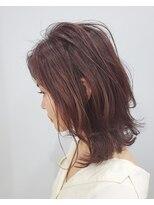 エイム ヘアメイク 横川店(eim HAIR MAKE)切りっぱミディ×ソフトレイヤー