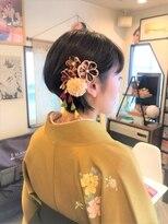 卒業式☆袴スタイリング
