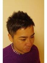 ルースヘアー(LUZ HAIR)男前2ブロックアシメ