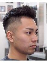ヘアーサロン ファイン(Hair Salon FINE)skinfade×pompdour