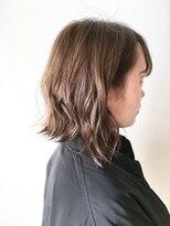 フレイムスヘアデザイン(FRAMES hair design)無造作ボブ×アッシュマット