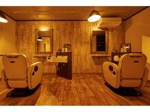 ニコ ヘアリラクゼーション(Nico hair relaxation)の雰囲気(2Fはmen's専用フロア。ゆったりとした空間です。)