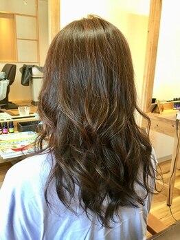 ヘア アトリエ コエ(hair atelier koe)の写真/【太白区】朝のスタイリングが簡単に◎koeのダメージレスパーマは長持ちと好評!ホームケア付きもオススメ☆
