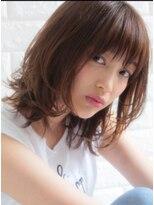 キース ヘアアンドメイク(kith. hair&make)kith.本田×大人かわいい 愛され カール ふわミディ